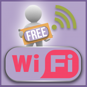 BOUNCIN PLAY FREE WIFI BUTTON