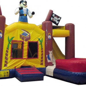 5-in-1 Pirate Bounce House